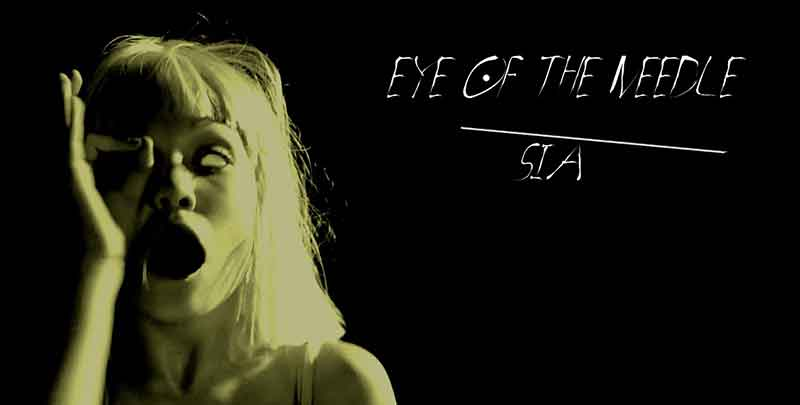 Eye of the Needle Song Lyrics, Sia, 1000 Forms Of Fear, Songstune.com