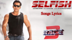 Selfish Songs Lyrics