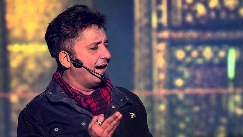 Sukhwinder Singh is an Indian Bollywood playback singer.